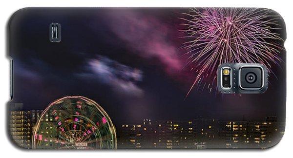 Coney Island Fireworks Galaxy S5 Case