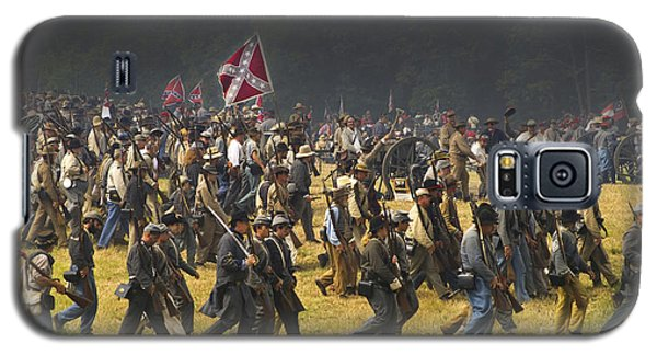 Confederate Charge At Gettysburg Galaxy S5 Case