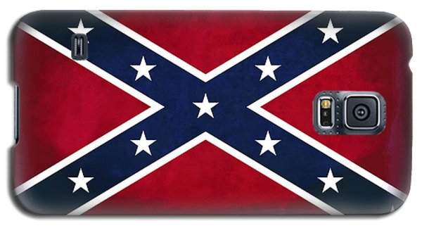 Confederate Rebel Battle Flag Galaxy S5 Case by Daniel Hagerman