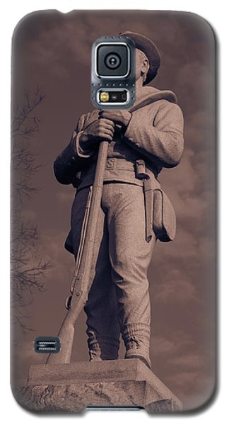 Confederate Statue  Standing Guard Galaxy S5 Case