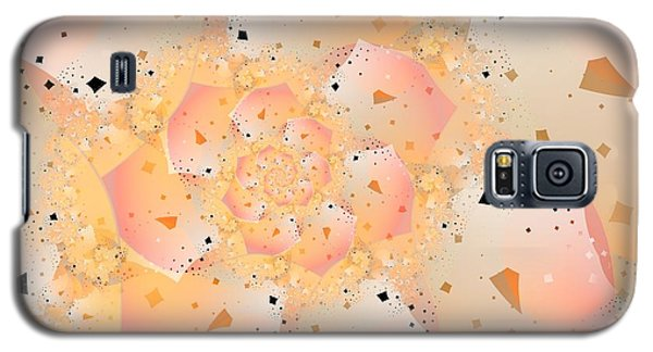 Galaxy S5 Case featuring the digital art Confetti Pastel by Michelle H