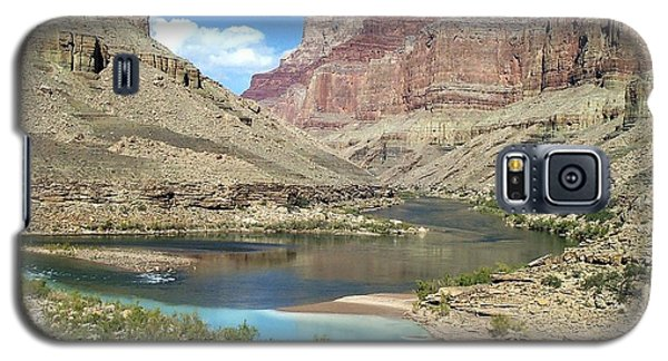Confluence Of Colorado And Little Colorado Rivers Grand Canyon National Park Galaxy S5 Case