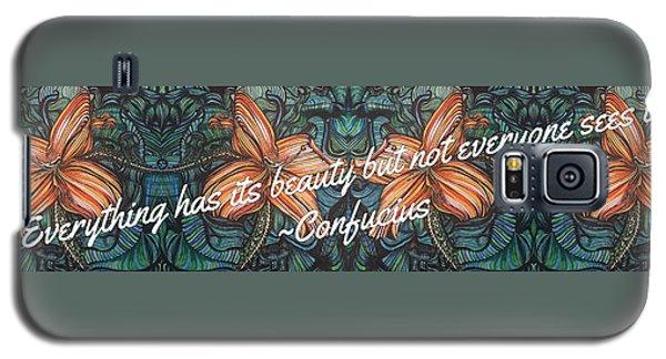 Confucius Beauty  Galaxy S5 Case