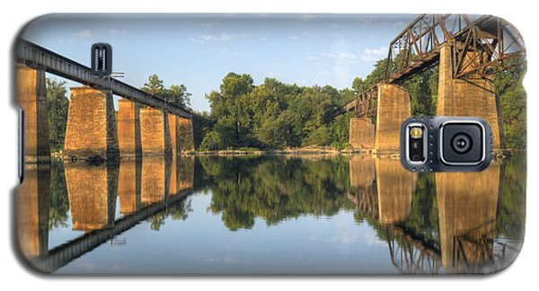 Congaree River Rr Trestles - 1 Galaxy S5 Case