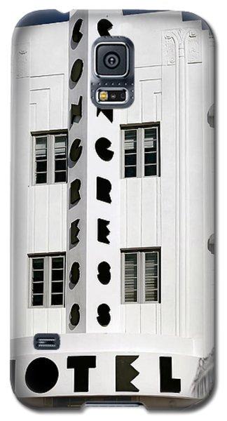 Congress Hotel. Miami. Fl. Usa Galaxy S5 Case by Juan Carlos Ferro Duque