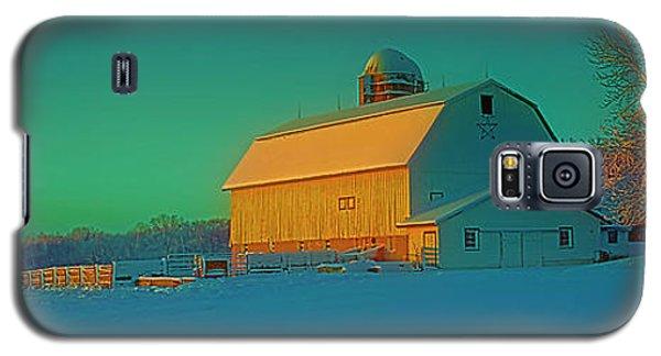 Conley Rd White Barn Galaxy S5 Case