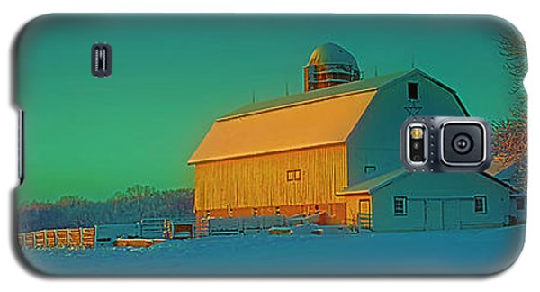 Conley Rd White Barn Galaxy S5 Case