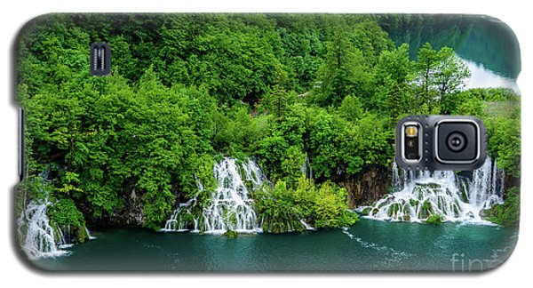 Connected By Waterfalls - Plitvice Lakes National Park, Croatia Galaxy S5 Case