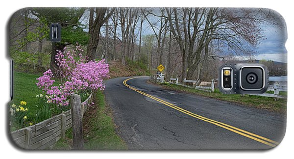 Galaxy S5 Case featuring the photograph Connecticut Country Road by Bill Wakeley
