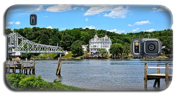 Connecticut River - Swing Bridge - Goodspeed Opera House Galaxy S5 Case