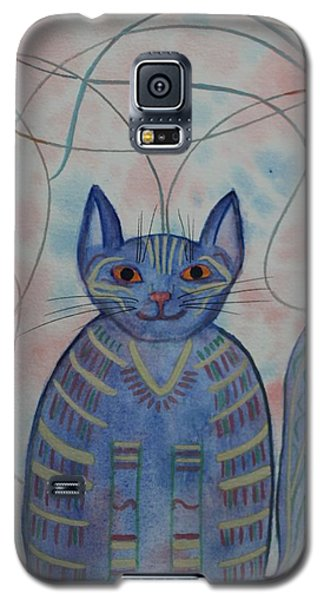 Connection Cat  Galaxy S5 Case
