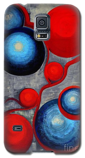 Galaxy S5 Case featuring the painting Connections by Holly Carmichael