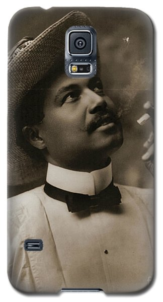 Galaxy S5 Case featuring the photograph Connoisseur 1899 by Padre Art