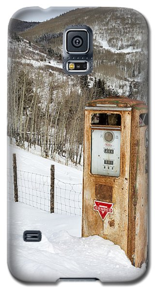 Conoco In The Snow Galaxy S5 Case