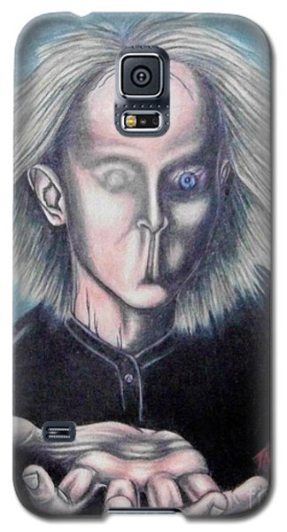 Galaxy S5 Case featuring the drawing Consciousness by Michael  TMAD Finney
