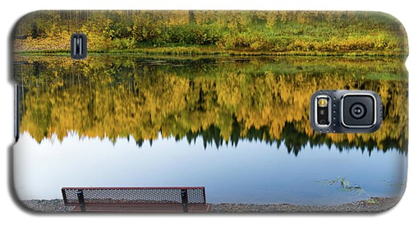 Galaxy S5 Case featuring the photograph Contemplating The Colors Of A Colorado Autumn by John De Bord