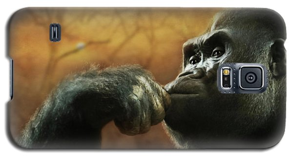 Galaxy S5 Case featuring the photograph Contemplation by Lori Deiter