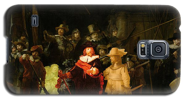 Contemporary 1 Rembrandt Galaxy S5 Case