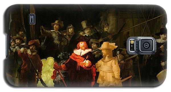 Contemporary 1 Rembrandt Galaxy S5 Case by David Bridburg
