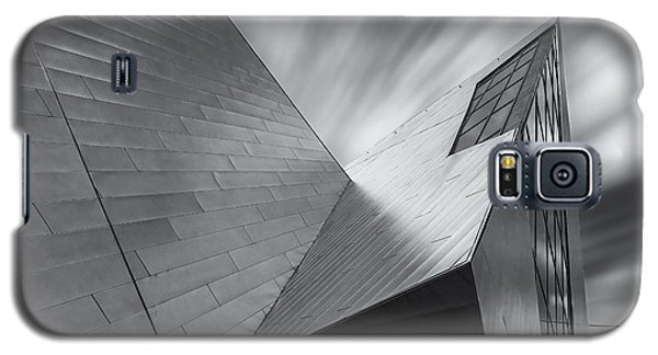 Galaxy S5 Case featuring the photograph Contemporary Architecture Of The Shops At Crystals, Aria, Las Ve by Adam Romanowicz