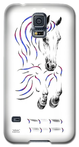 Contemporary Jumper Horse Galaxy S5 Case