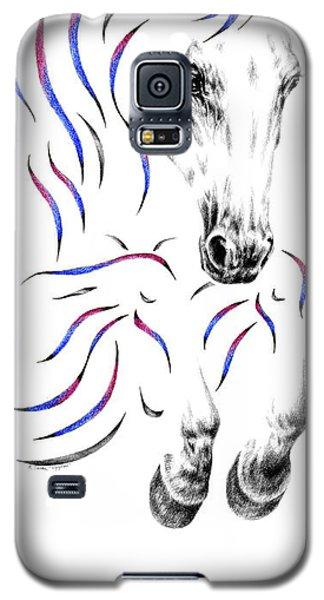 Contemporary Jumper Horse Galaxy S5 Case