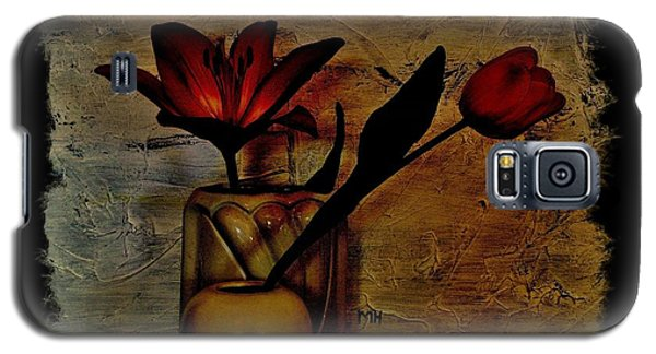 Galaxy S5 Case featuring the photograph Contemporary Still Life by Marsha Heiken