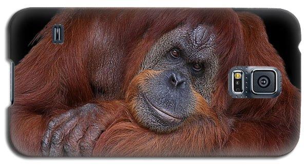 Contented Orangutan Galaxy S5 Case