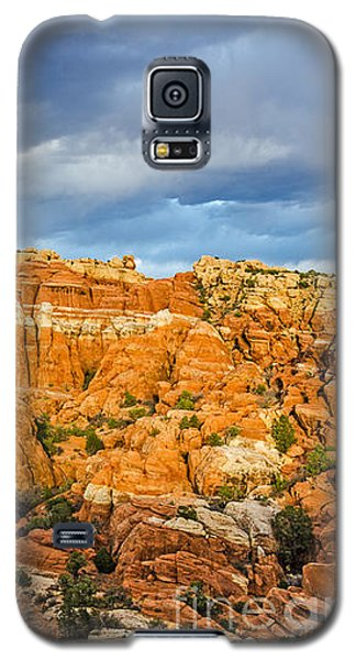 Contrasts In Arches National Park Galaxy S5 Case