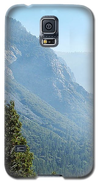 1 Of 4 Controlled Burn Of Yosemite Section Galaxy S5 Case