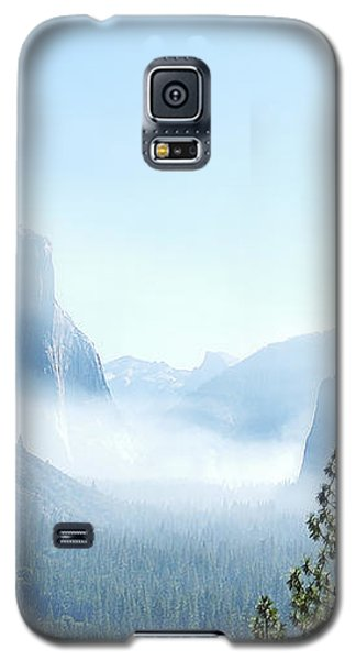 2 Of 4 Controlled Burn Of Yosemite Section Galaxy S5 Case