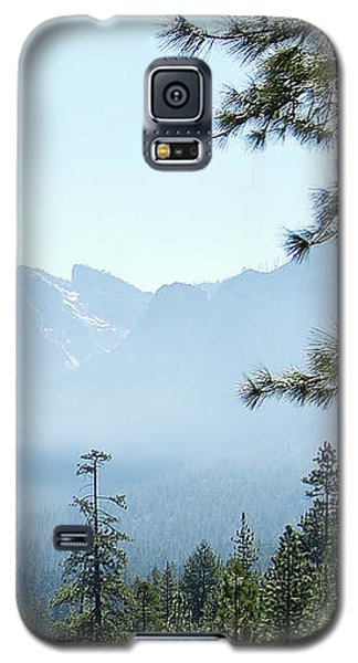 3 Of 4 Controlled Burn Of Yosemite Section Galaxy S5 Case