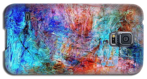 Galaxy S5 Case featuring the painting Convergence by Dominic Piperata