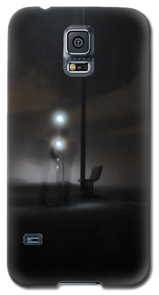 Galaxy S5 Case featuring the photograph Conversation In The Mist by Digital Art Cafe
