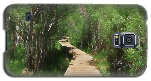 Galaxy S5 Case featuring the photograph Convict Lake Loop Trail by Donna Kennedy