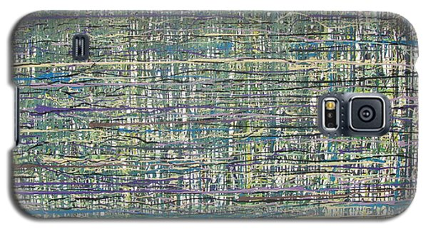 Galaxy S5 Case featuring the painting Convoluted by Jacqueline Athmann