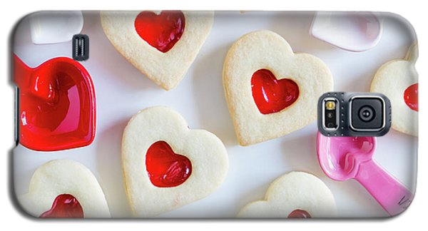 Galaxy S5 Case featuring the photograph Cookie Baking Love by Teri Virbickis