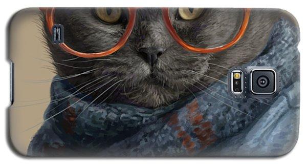 Cool Cat Galaxy S5 Case