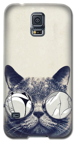 Cool Cat Galaxy S5 Case by Vitor Costa