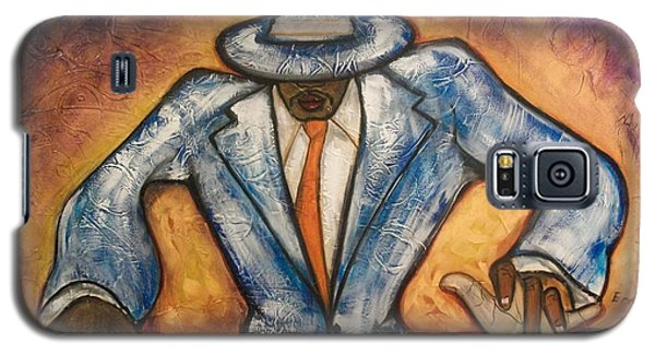 Galaxy S5 Case featuring the painting Cool  by Emery Franklin