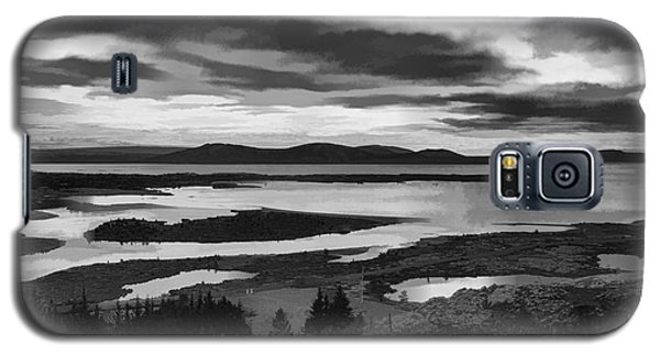 Galaxy S5 Case featuring the photograph Cool Lakes Iceland by Rick Bragan