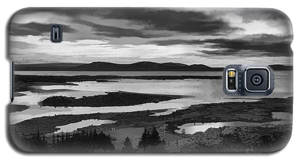 Cool Lakes Iceland Galaxy S5 Case by Rick Bragan