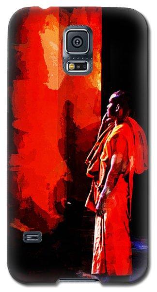 Cool Orange Monk Galaxy S5 Case