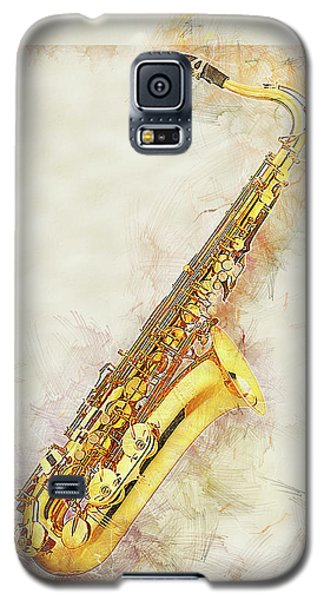 Cool Saxophone Galaxy S5 Case