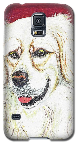 Galaxy S5 Case featuring the painting Cooper II by Ania M Milo