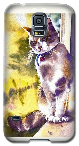Coops The Cat Galaxy S5 Case
