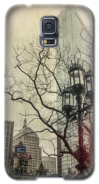 Galaxy S5 Case featuring the photograph Copley Square - Boston by Joann Vitali