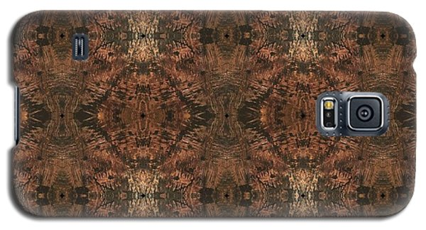 Copper Abstract 1 Galaxy S5 Case