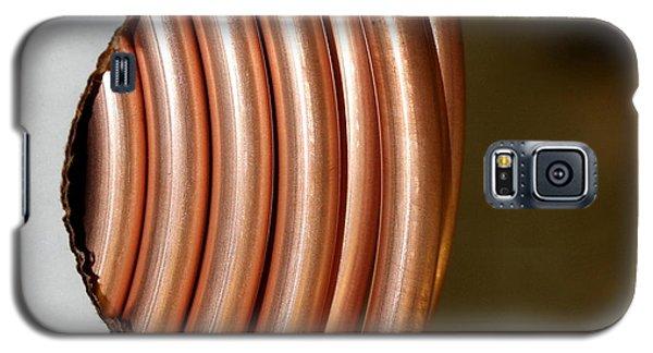 Copper Curves Galaxy S5 Case