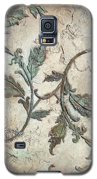 Copper Leaves Galaxy S5 Case